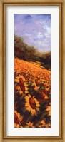Framed Flowers Of The Sun I