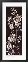 Framed Ivory Roses II