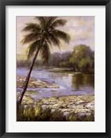 Framed Island Tropics I