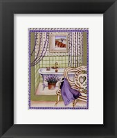 Framed Lavander Bath
