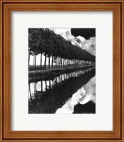 Framed Holland Canal, Sluis, Holland