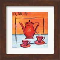 Framed Asian Tea Set I
