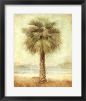 Mirage Palm I Framed Print