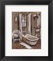 French Bath II Framed Print