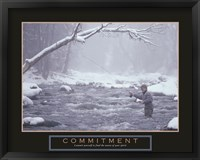 Framed Commitment - Fisherman