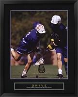 Framed Drive - Lacrosse