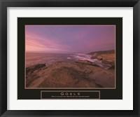 Framed Goals - Sunset