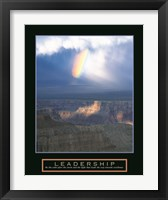 Framed Leadership - Passing Storm