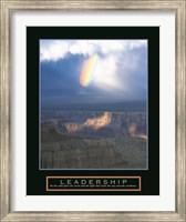 Framed Leadership - Passing Storm
