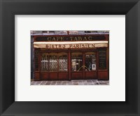 Framed Bistro Parisien