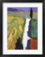 Framed Tuscan Field II
