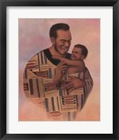 Framed Family Values Man