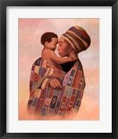 Framed Family Values Woman