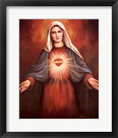 Framed Mary's Immaculate Heart