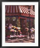 Framed Les Petits Fleurs