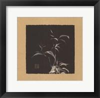 Framed Golden Bamboo I