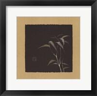 Framed Golden Bamboo IV