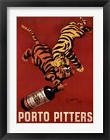 Porto Pitters Framed Print
