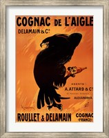 Framed Cognac De L'aigle