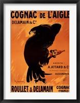 Cognac De L'aigle Framed Print