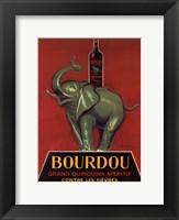 Framed Bourdou