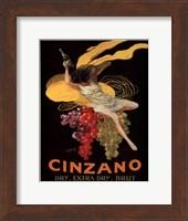 Framed Cinzano, 1920