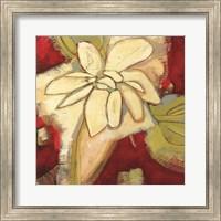 Framed Jungle Gardenia I