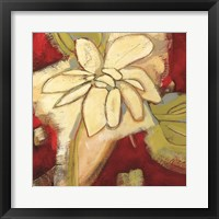 Framed Jungle Gardenia I