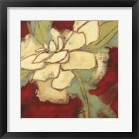 Framed Jungle Gardenia II