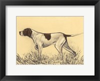 Framed Hunting Dogs-Pointer