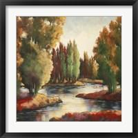 Framed Sullivan's Creek II