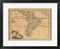 Framed South America, 1802