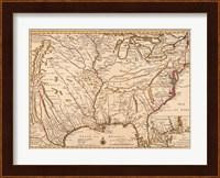 Framed Rivers Of America, 1720