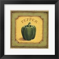 Pepper Framed Print