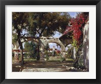 Framed Mission Arches