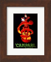 Framed Campari