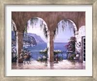 Framed Mediterranean Arch