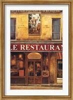 Framed Le Restaurant