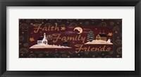 Framed Faith Family Friends