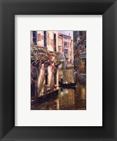 Afternoon Chat Framed Print