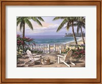 Framed Coastal View