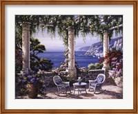 Framed Mediterranean Terrace