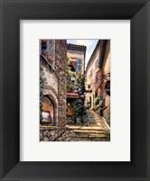 Gallery Steps Framed Print
