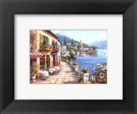 Overlook Cafe I Framed Print