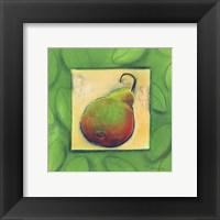 Framed Yellow Pear Blushing