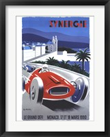 Framed Le Grand Defi Monaco 18 Mars 1990