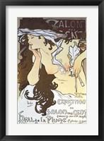 Framed Salon Des Cents