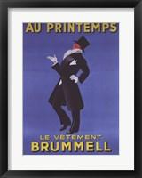 Framed Au Printemps