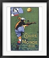Framed Coupe Du Monde 1938