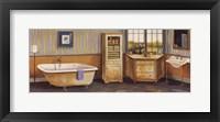 Framed Hamptons Bath I